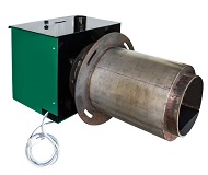 Пеллетная горелка 75 кВт для отопления